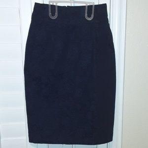 💎 Marc Jacobs Pencil Floral Denim Skirt
